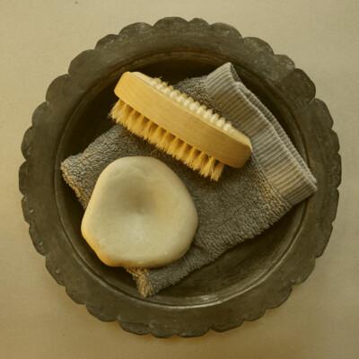 ICHTHYOSAUR VERTEBRA SOAP