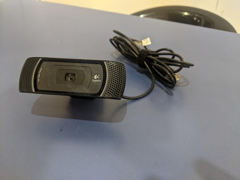 Logitech B910 HD Webcam Rigenerato 5 MP USB 2.0 Nero
