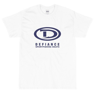 Defiance Boats Men's Blue Logo Tee