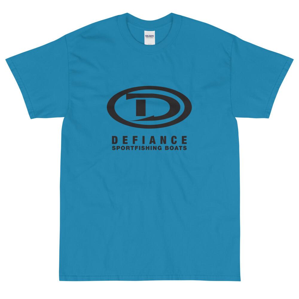 Defiance Boats Men's Black Logo Tee