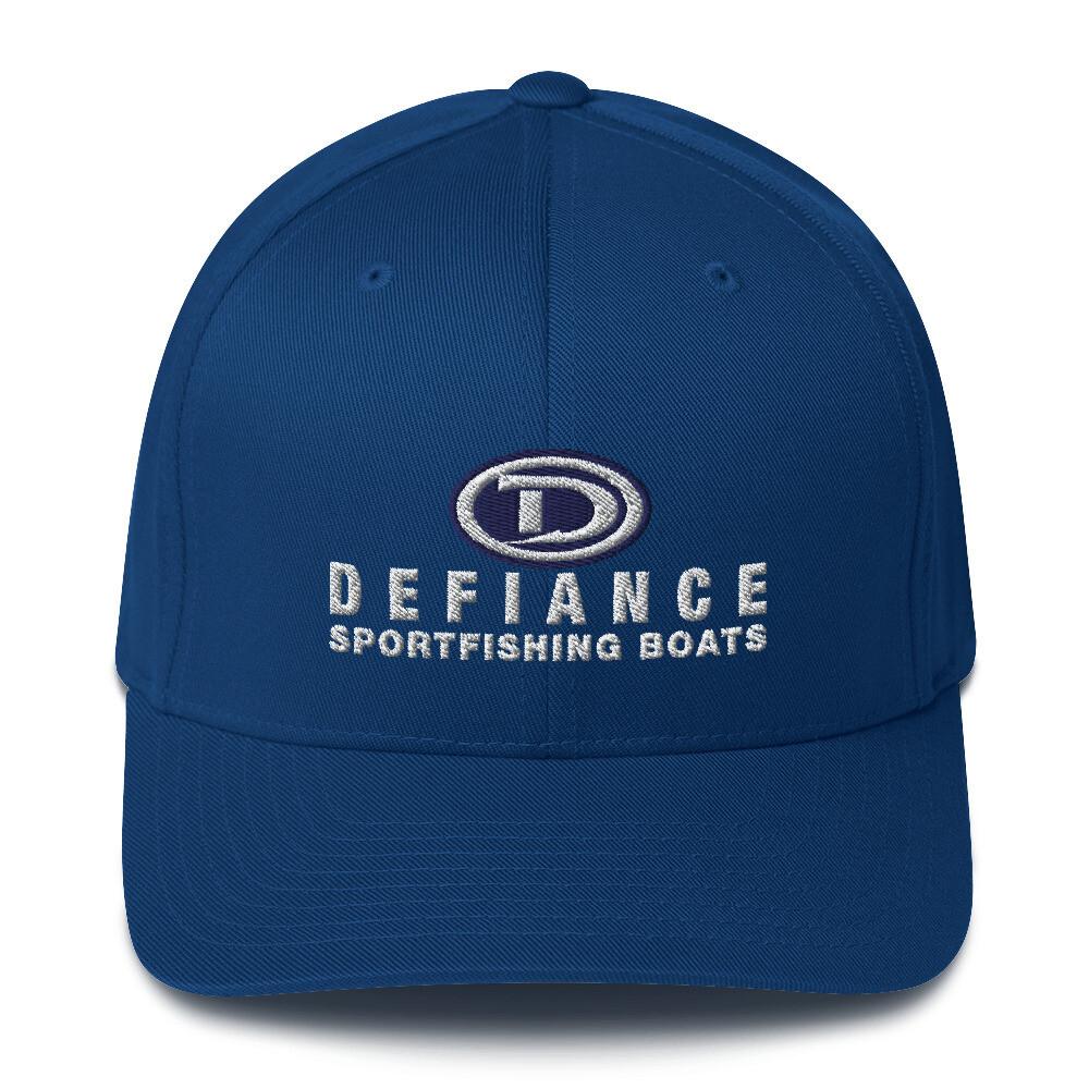 Defiance Boats Logo Flexfit Hat