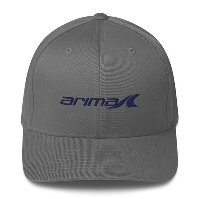 Arima Boats Royal Blue Logo Flexfit Hat