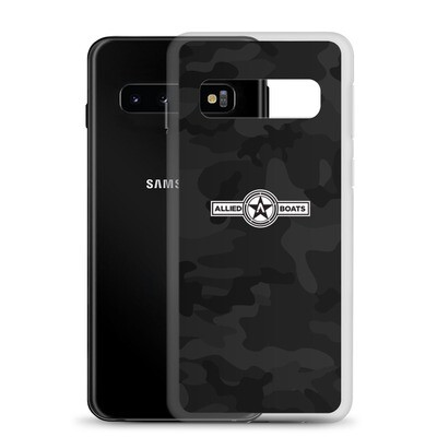 Allied Boats Black Camo Samsung Galaxy Phone Case