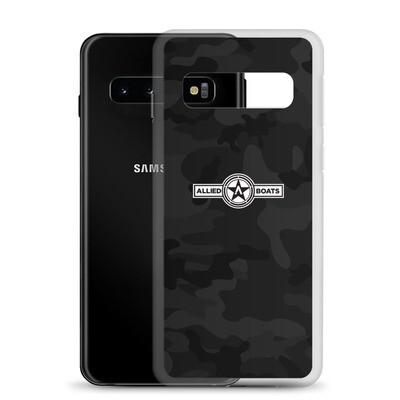 Allied Boats Black Camo Samsung Galaxy Phone Case