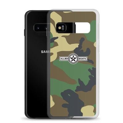 Allied Boats Woodland Camo Samsung Galaxy Phone Case