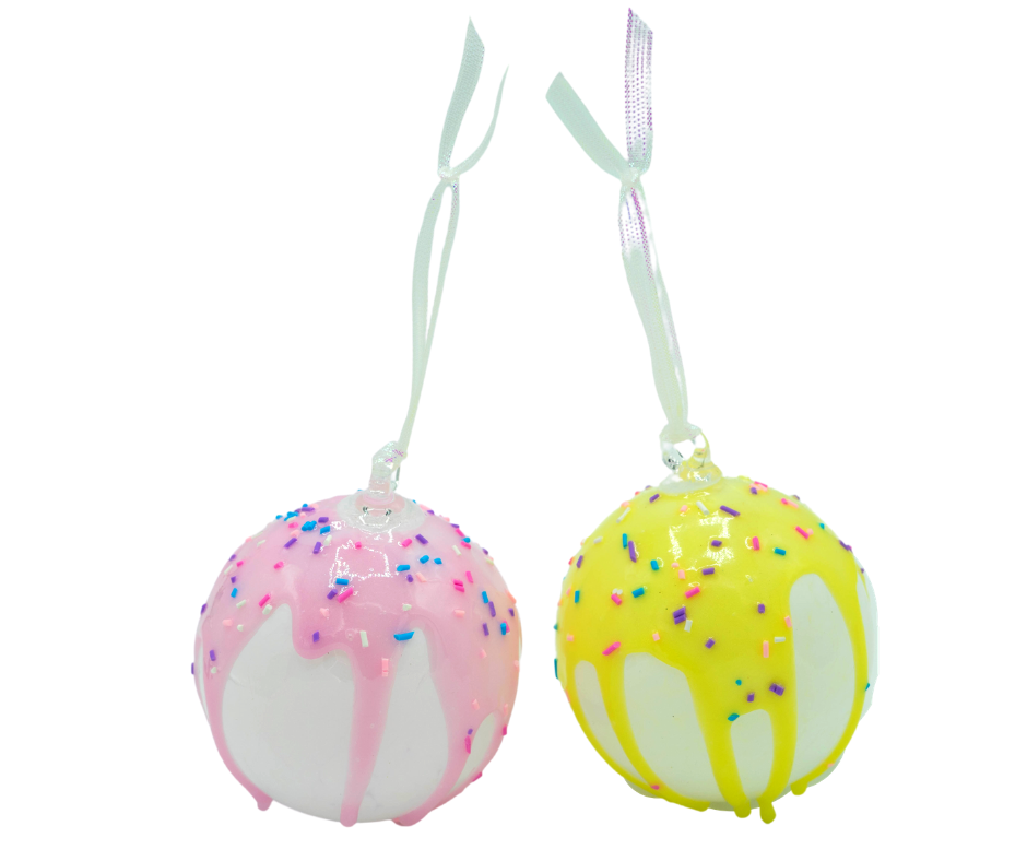 Christmas Ornament - Liquid Lush - Ice Cream Drip