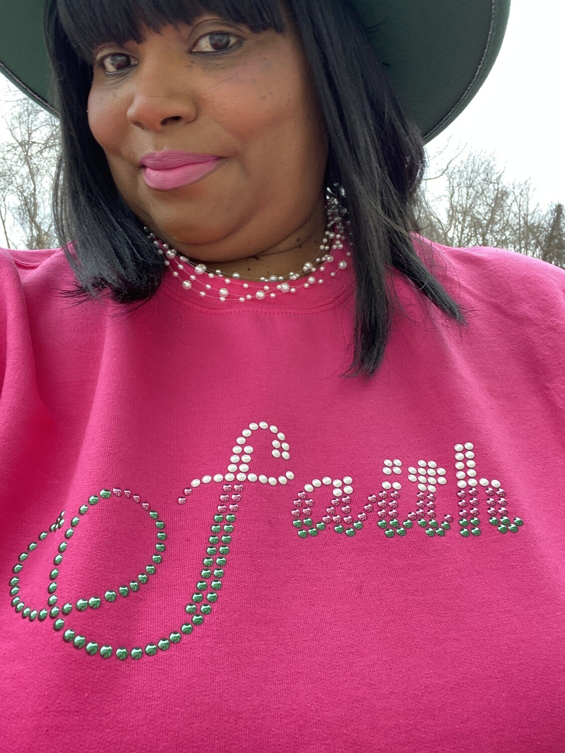 Faith | Women's Sweatshirt | Casual Wear | Religious Apparel | Birthday Gifts | Mother's Day Gifts