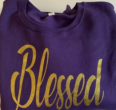 Blessed | Women's Sweatshirt | Casual Wear | Religious Apparel | Birthday Gifts | Mother's Day Gifts