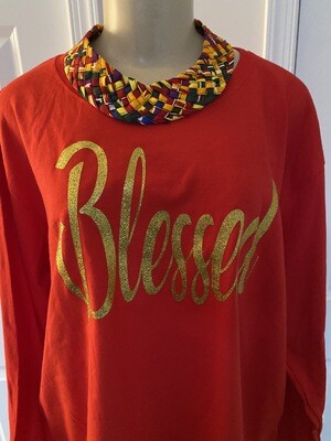 Blessed | Women's Long Sleeve T-Shirt | Casual Wear | Religious Apparel | Birthday Gifts | Mother's Day Gifts