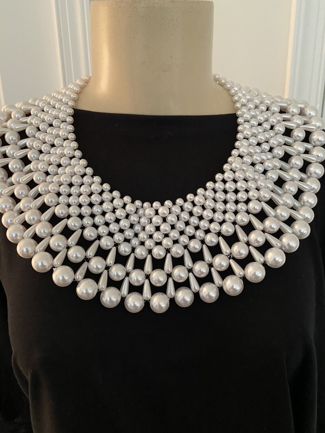 Pearl Collar Necklace | Drop Earrings| Jewelry| Birthday Gifts| Mother's Day Gifts | Sorority Gifts