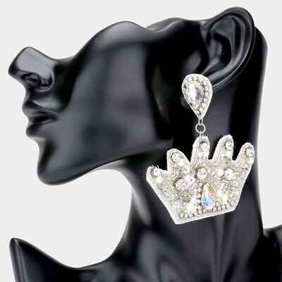 Crown Earrings | Trendy Accessories | Bling Jewelry | Unique Gifts