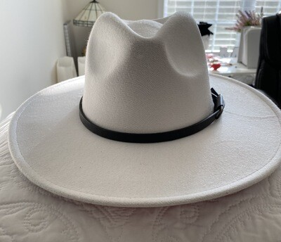 Panama Belted Brim Hat    Trendy Accessories   Unique Gifts   Stylish Hats   Christmas Gifts