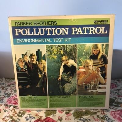 Parker Brothers Pollution Patrol Environmental Test Kit