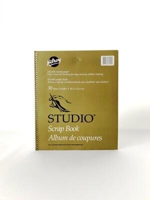 "Hilroy Studio Scrapbook, 12x10"", Manila Paper, 30 Sheets"