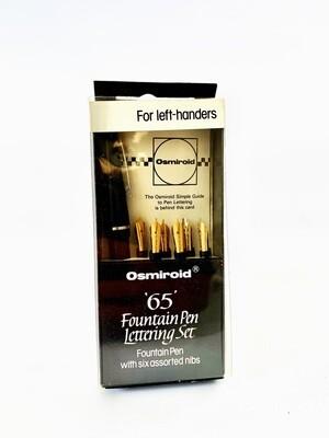Osmiroid '65' Fountain Pen Lettering Set