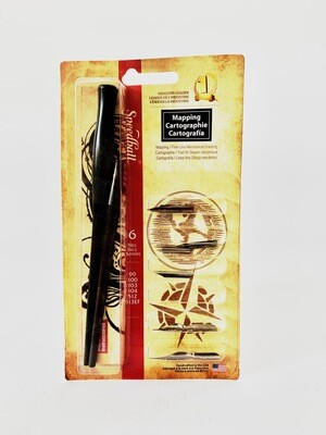 Speedball Art Products Mapping Pen Set