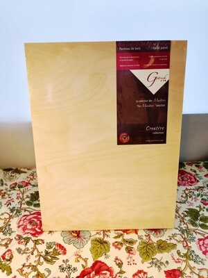 Gotrick Masters Selection Wood Panel 12x16