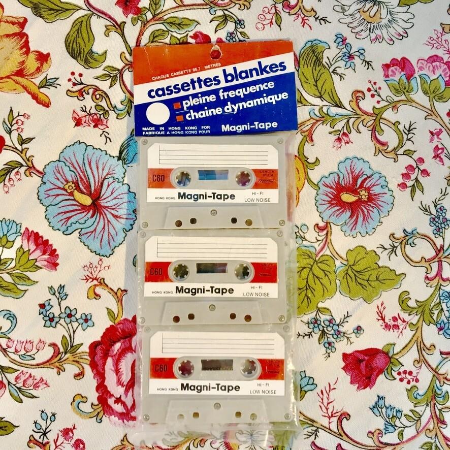 Blank Cassette Tapes (3)