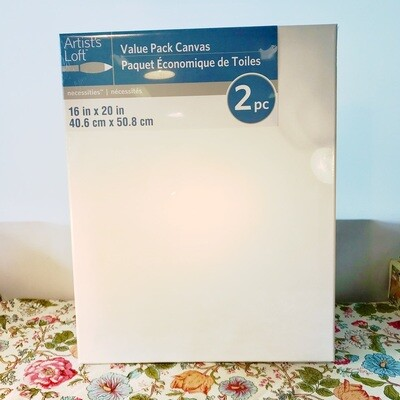 Value Pack Canvas, 2 Pack by Artist's Loft® Necessities™