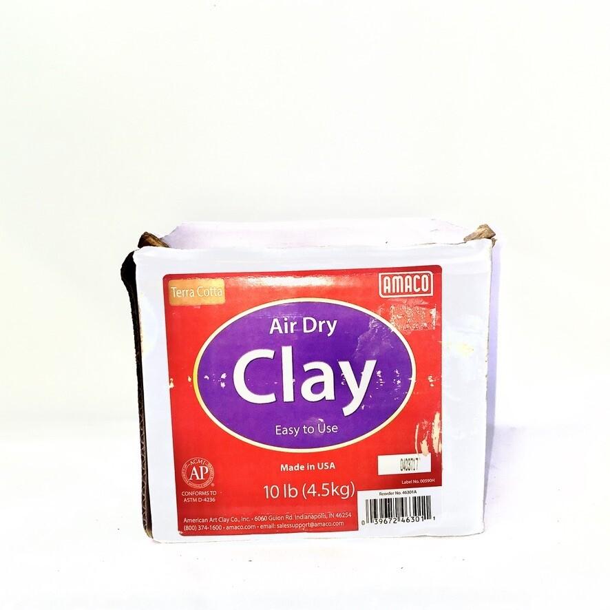 Air Dry Clay Terra Cotta 10lb