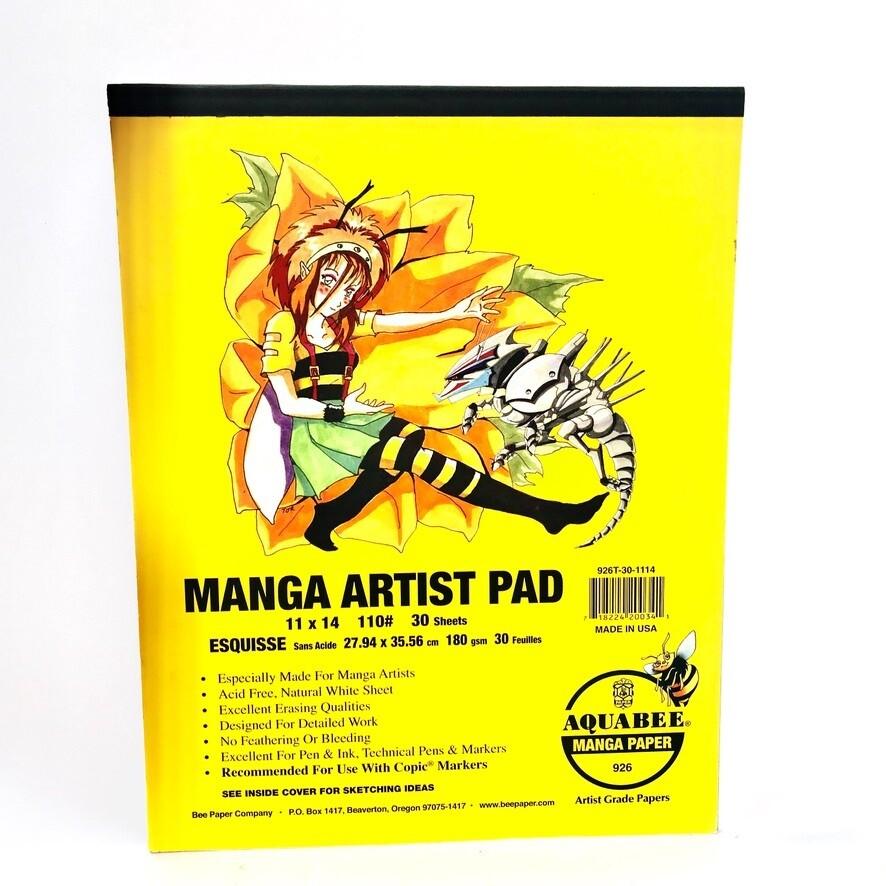 Manga Artist Pad 11x14 30 Sheets