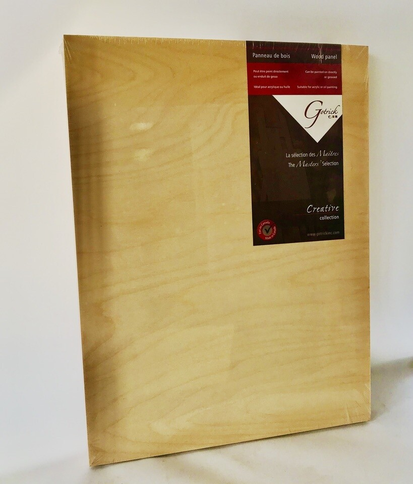 Gotrick Masters Selection Wood Panel 14x18