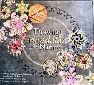 Drawing Mandalas from Nature: 80 Inspiring & Organic Designs for Coloring and Meditation Misc. Supplies