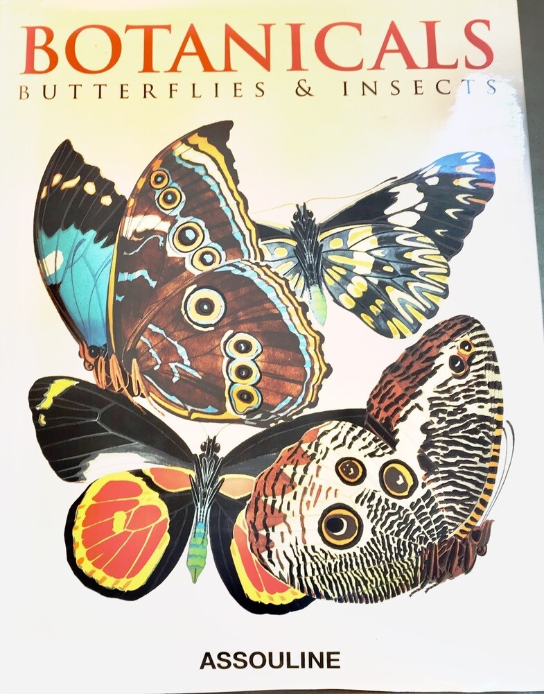 Botanicals: Butterflies & Insects Hardcover