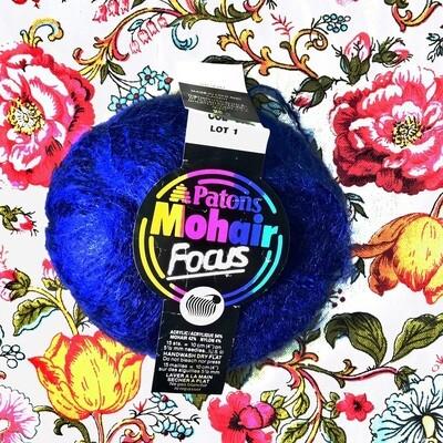 Paton's Blue Mohair