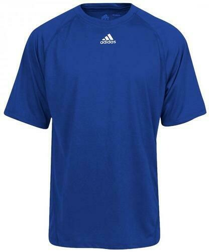 ADIDAS Blue CLIMALITE T-Shirt