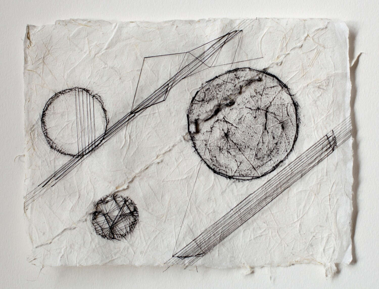 study in circles and lines #2