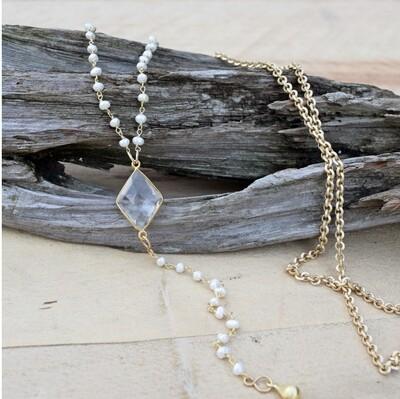 Sugar Magnolia Necklace