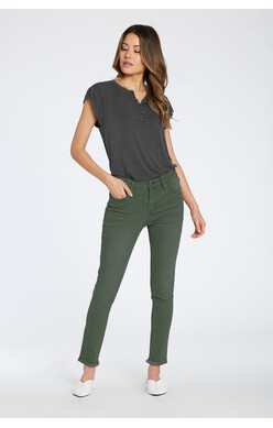 Gisele- forest green