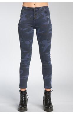 Blue Camo Jeans