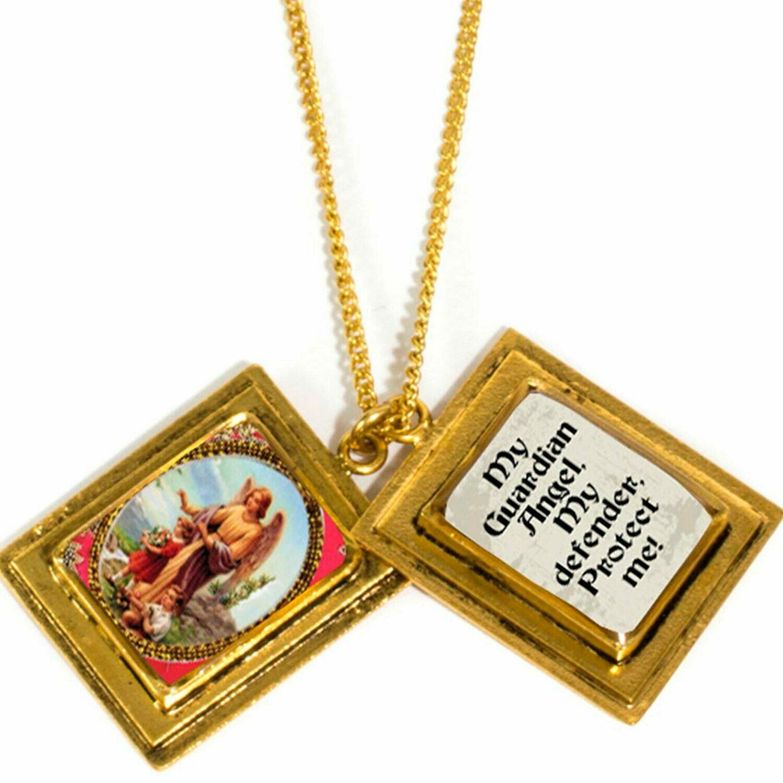 True Prayer My Guardian angel charm necklace