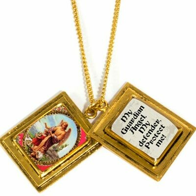 True Prayer My Guardian angel charm necklace