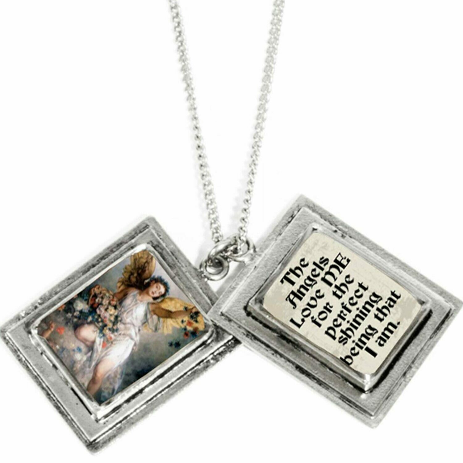 True Prayer Angels Love charm necklace