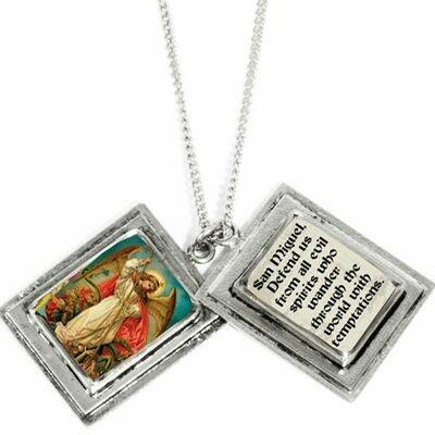 True Prayer San Miguel charm necklace