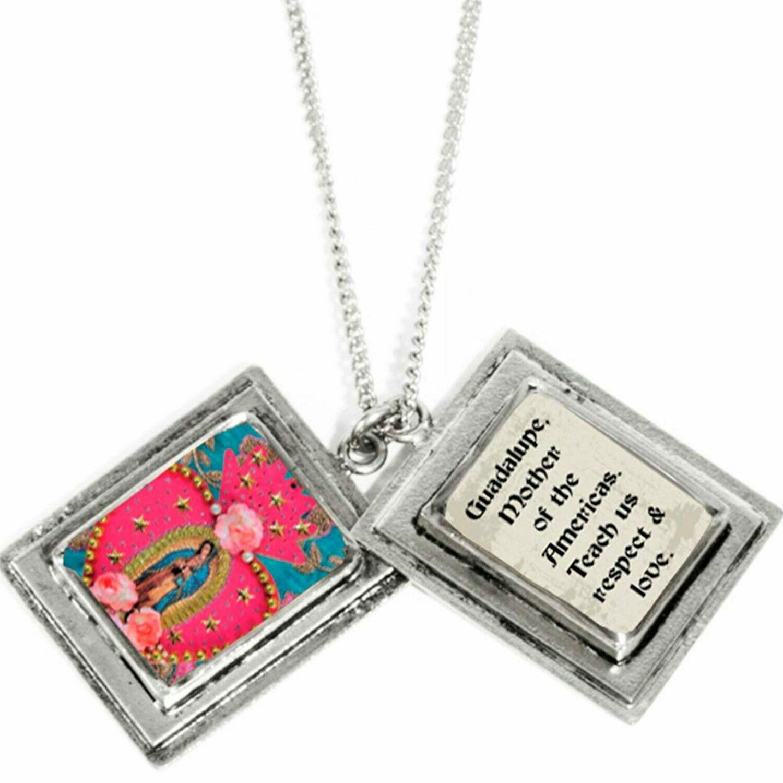 True Prayer Feminist Icon charm necklace
