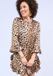Prowlin Dress Leopard