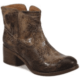 Charcoal Bootie