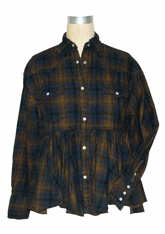 Plaid Cord Jacket