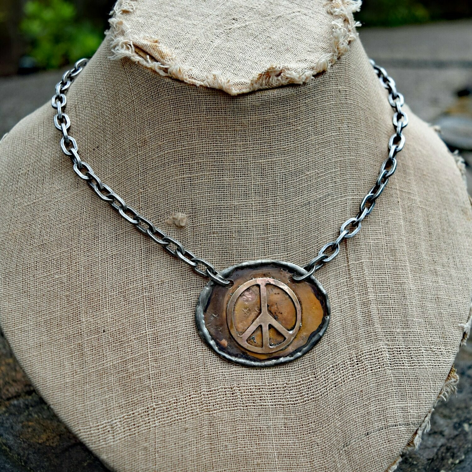 The Amy Necklace- Peace