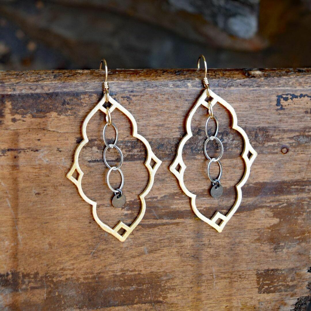 Moroccan Hoop Earrings