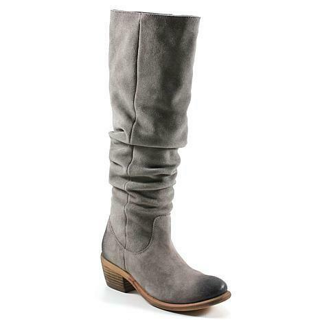 Grey Suede Boot