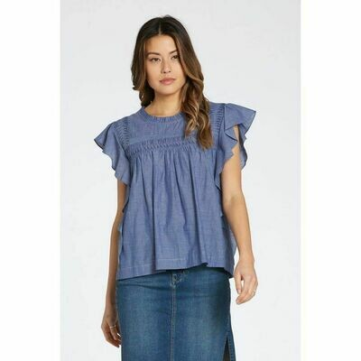 Azalea Natural Chambray