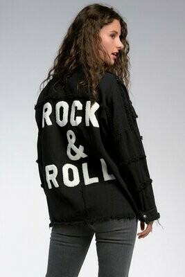 Black Jacket Btn Up