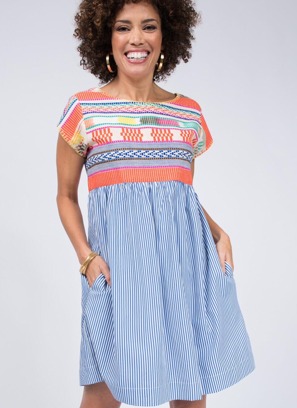 Global Stripes Dress