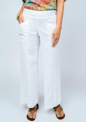 Crop Pant White
