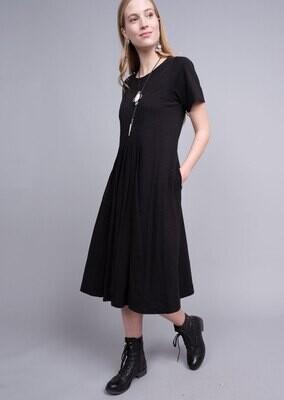 Tucked Knit Midi Dress